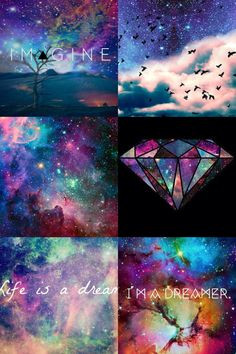 Galaxy tumblr collage More