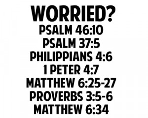 Don't worry God has it under control