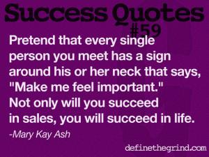 Life Sales Motivational Quotes Success