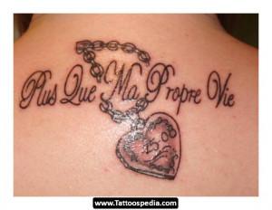 Italian Love Quote Tattoos