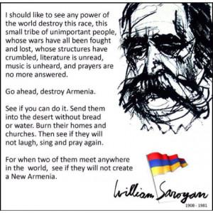 William Saroyan, Armenian-American Author and Poet.