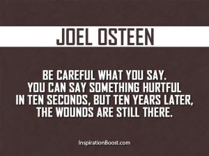 Joel Osteen Words Quotes