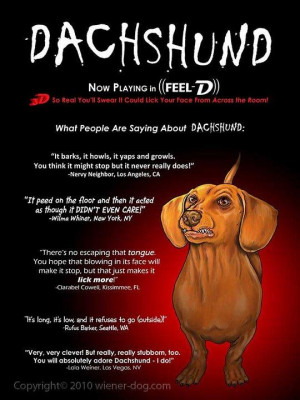 Dachshund Quotes Sayings. QuotesGram