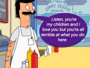 Beefiest Bob's Burgers Quotes