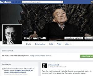 Anche di Giulio Andreotti, morto a maggio, si è discusso parecchio ...