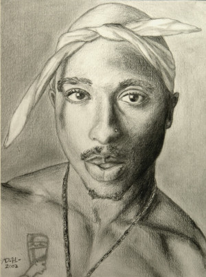 tupac drawing Images