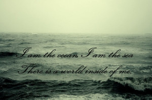 bring me the horizon, crucify me, lyrics, ocean, quotation, quote, sea ...