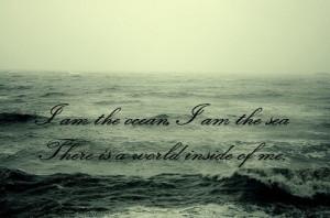 bring me the horizon, crucify me, lyrics, ocean, quotation, quote, sea ...