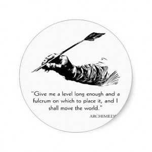 archimedes_quote_move_the_world_quotes_sayings_sticker ...