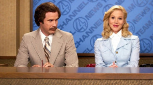 This movie is about Ron Burgundy, a rather eccentric news reporter who ...