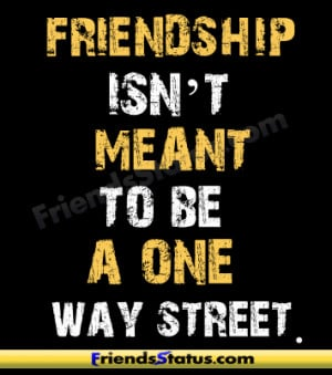 friendship street quotes wallpaper