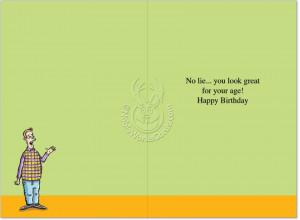 ... Compulsive Liars Humorous Photo Birthday Card Nobleworks image 1