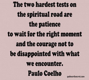 Waiting with Patience Bible verses