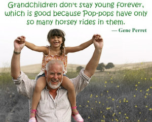 ... Grandchildren Quotes And Sayings Grandfather piggy back quotes