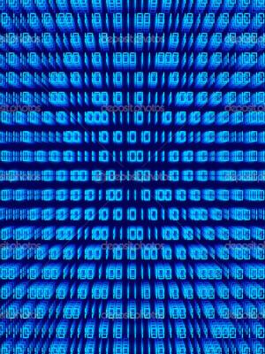 Binary Background Stock Image