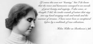 Beethoven Quotes Helen keller beethoven
