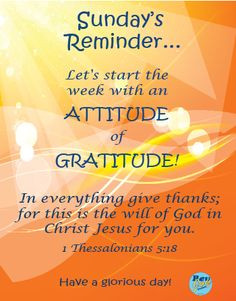 Sunday's-Reminder—Give Thanks More