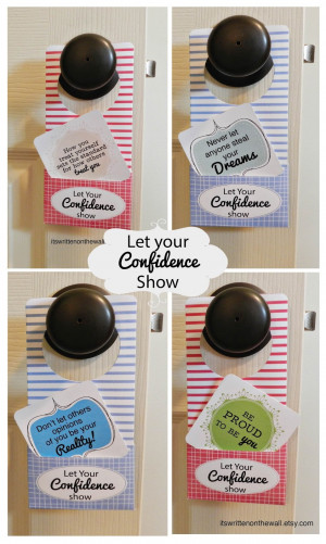 Let Your Confidence Show-Inspirational Notes for Kids, Teenagers, Moms ...