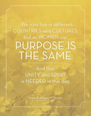 ... unity and spirit is needed in this day.