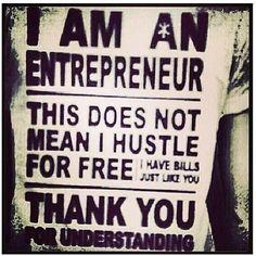 hustle. hard.