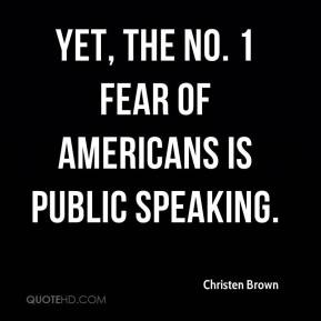 Quotes About Fear of Public Speaking