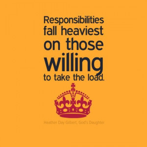 Responsibility quotes, motivational, sayings, will