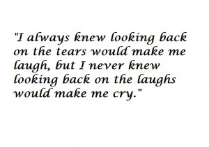 not looking back quotes