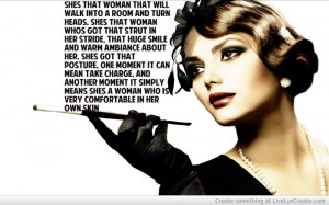 Being Classy Lady Quotes