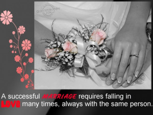 Quotes about love and marriage quotes