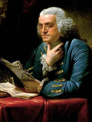 Science Quotes by Benjamin Franklin (55 quotes)
