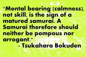 Samurai Quotes Samurai quotes