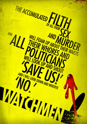 Watchmen Quote by elcrazy