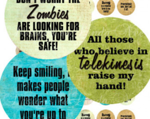 Download - Sarcastic Quotes 1 (1.25 inch round) Bottlecap Quotes ...