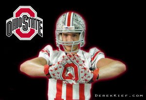 WR Derek Kief Visiting THE Ohio State Buckeyes