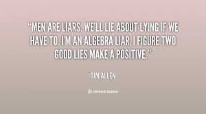 Quotes About Lying Men