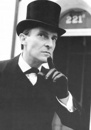 Hoylake author and Sherlock Holmes (pictured; actor Jeremy Brett ...