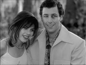 Fairuza Balk and Adam Sandler in Touchstone's The Waterboy – 1998