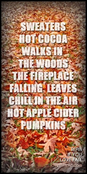 Fall, autumn, quotes, sayings, photos, meaningful, photo
