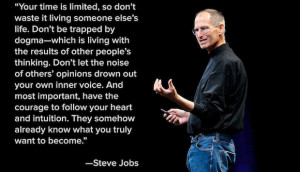 Steve Jobs' Commencement Speech and Quote on Passion