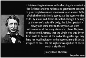 More Henry David Thoreau Quotes