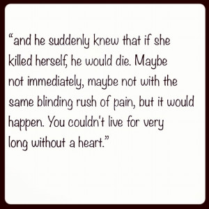 Jodi Picoult quote. Truth.