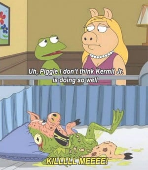 Family Guy On Your Favorite Muppet Couple