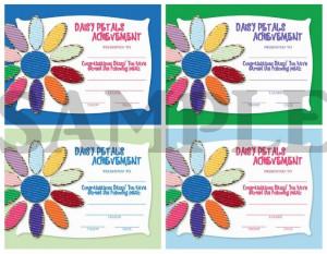 girl scout daisy petal certificate | Girl Scouts Daisy Petal Earned ...