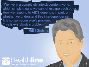 wallace on coming out with hiv via hiv aids awareness