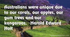 Favorite Harold Edward Holt Quotes