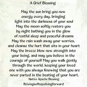 Native American Grief Blessing