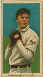 Christy Mathewson - Baseball Card Issued by American Tobacco Company