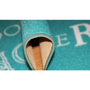 Rugs - Modern - Quotes Rug Rain Turquoise 150cm x 100cm photo 5