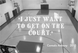 Just want to get on the Court – Basketball Quote