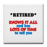 Funny Retirement Quotes Drink Coasters, Personalized Funny Retirement ...